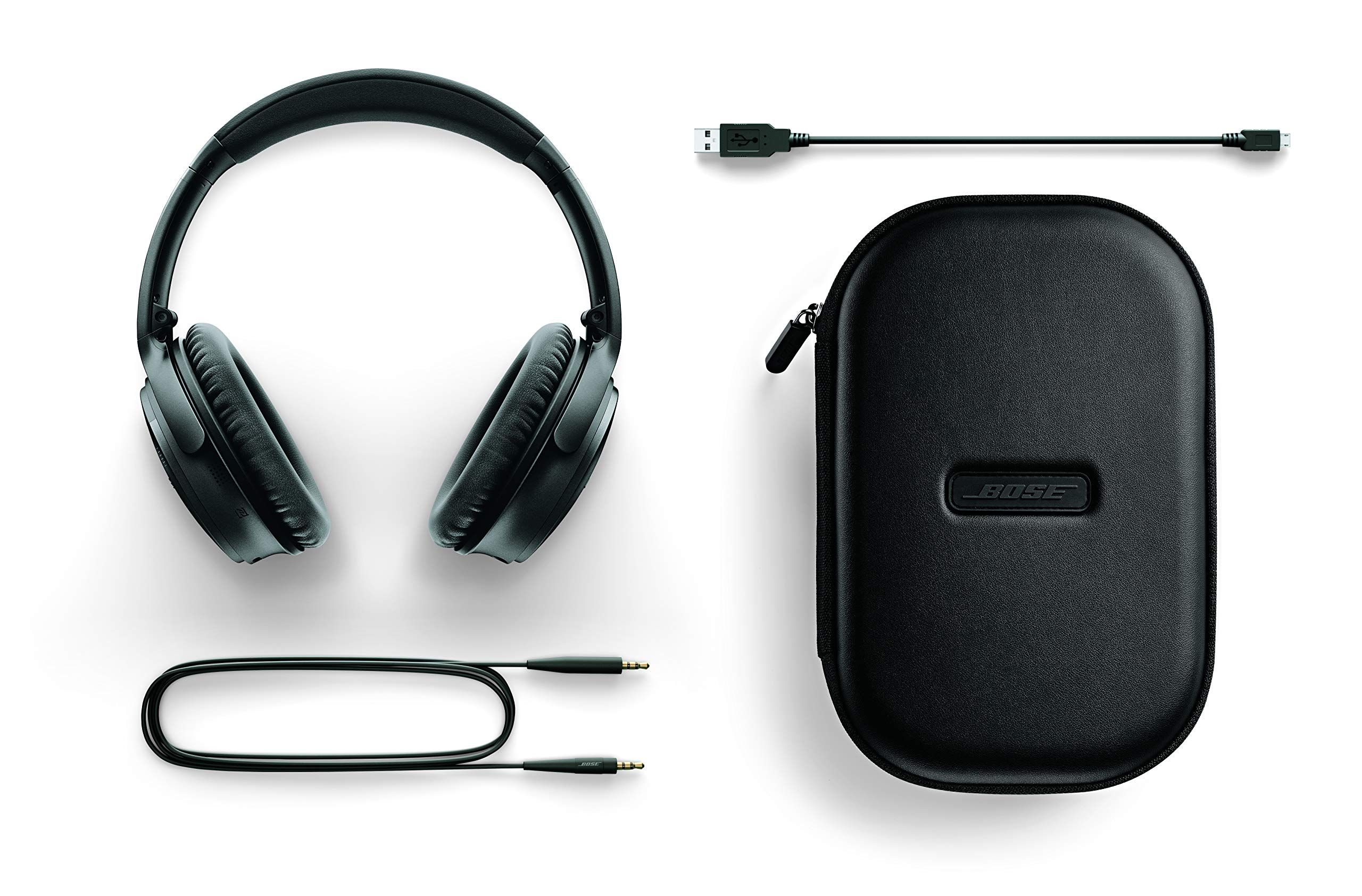 Bose QuietComfort 35 (Series II) Wireless Headphones, Noise