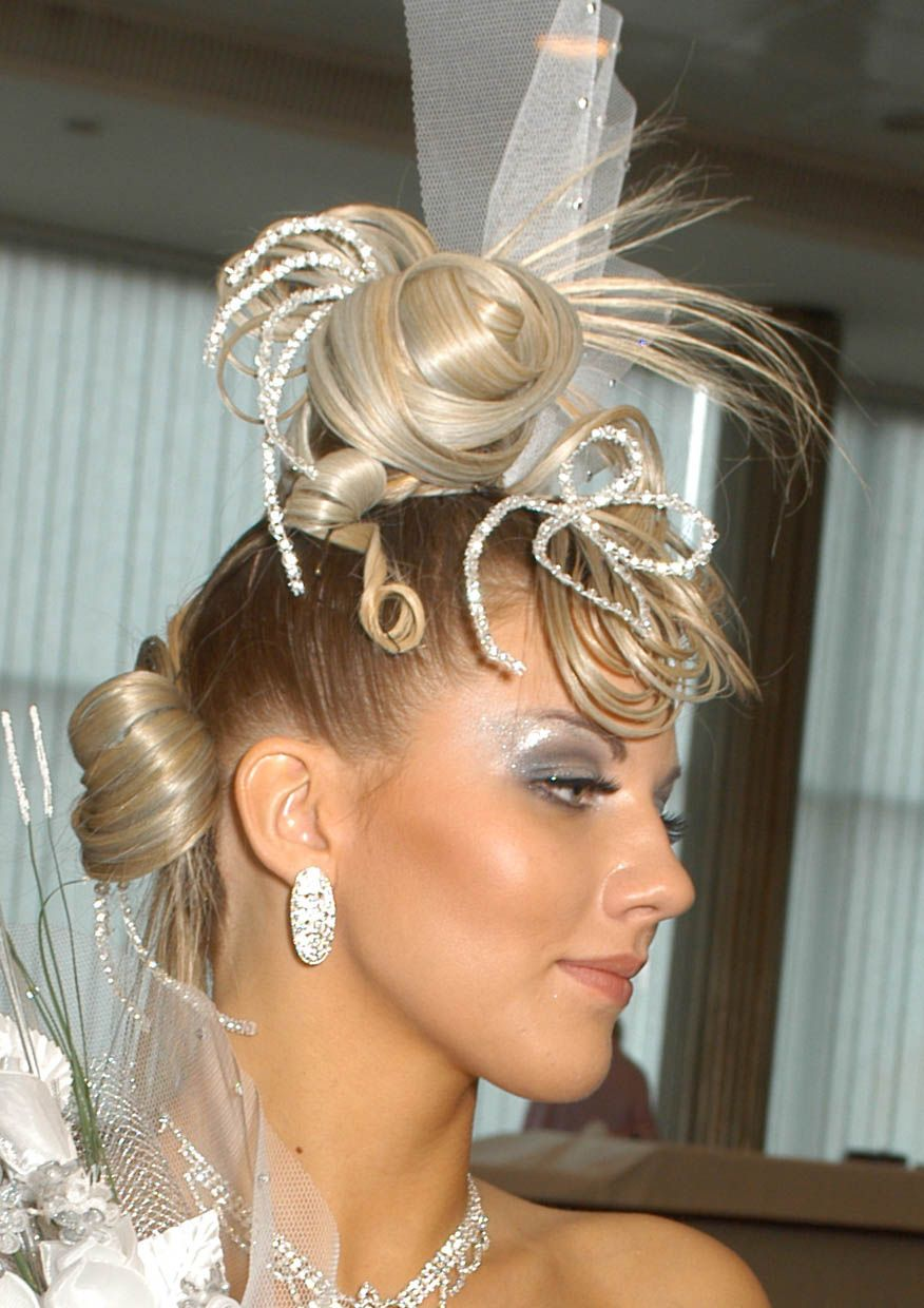 Hairstyles for Bridesmaids with Short Hair : Simple ...