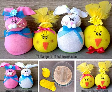 Sock bunny chick pre school door decorations pinterest sock bunny chick pre school door decorations pinterest friend crafts black sharpie and craft materials negle Image collections