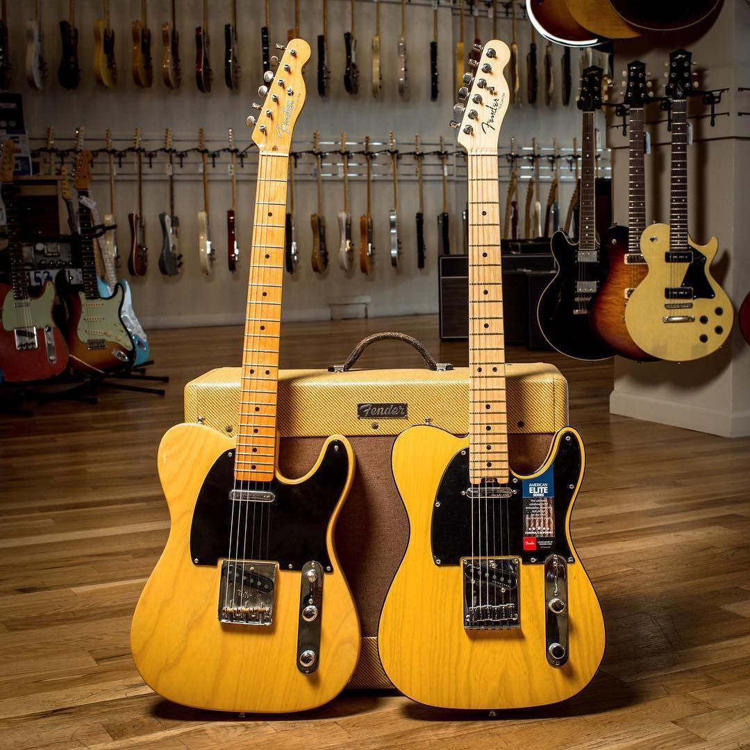 Butterscotch Blonde Now And Then Always A Classic On A Fender