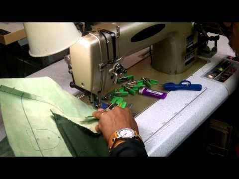 23ea24253bfa How To Make A Leather Tote Bag Without A Gusset Part 2 - YouTube ...