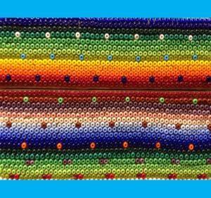 Cómo hacer arte Huichol con cuentas y cera.: Arte huichol