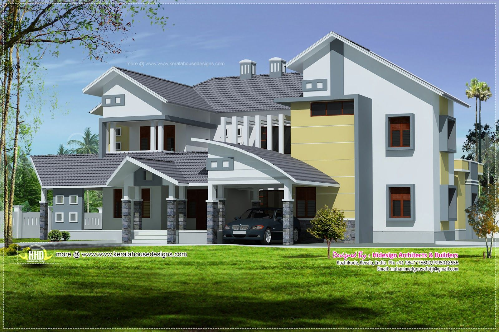 One Story Exterior House Design Modern Luxury House Plans Home Decor