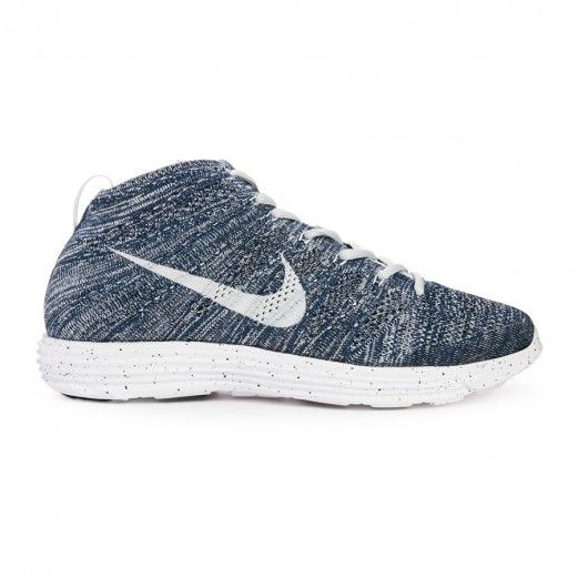 360b546df673 Nike Lunar Flyknit Chukka 554969-400 Sneakers — Running Shoes at  CrookedTongues.com