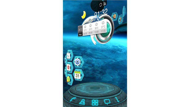Smartphone Bildschirm Flackert