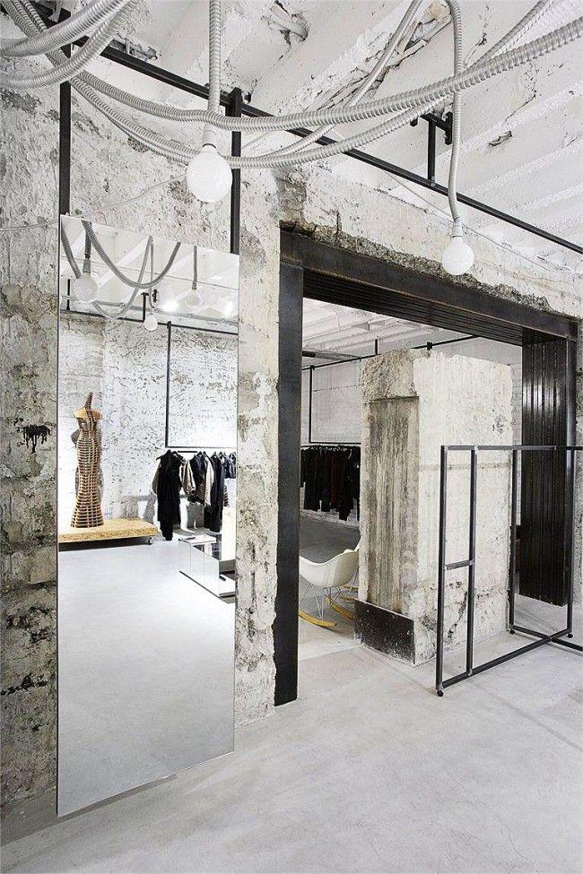 Бетон магазин одежды плотность бетона и керамзитобетона