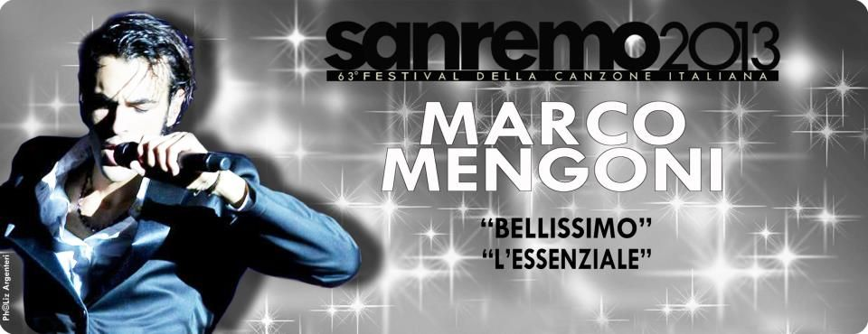 Bellissimo  L'essenziale  Marco Mengoni Sanremo 2013