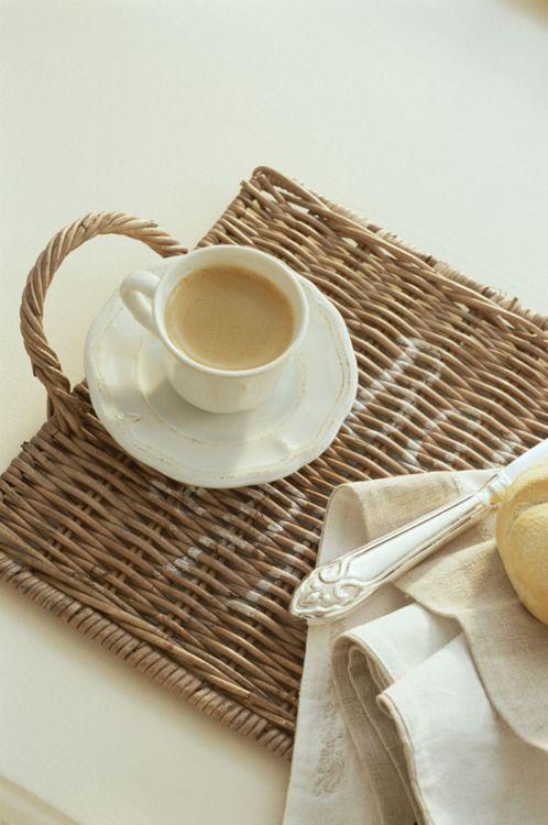 Tea on a tray