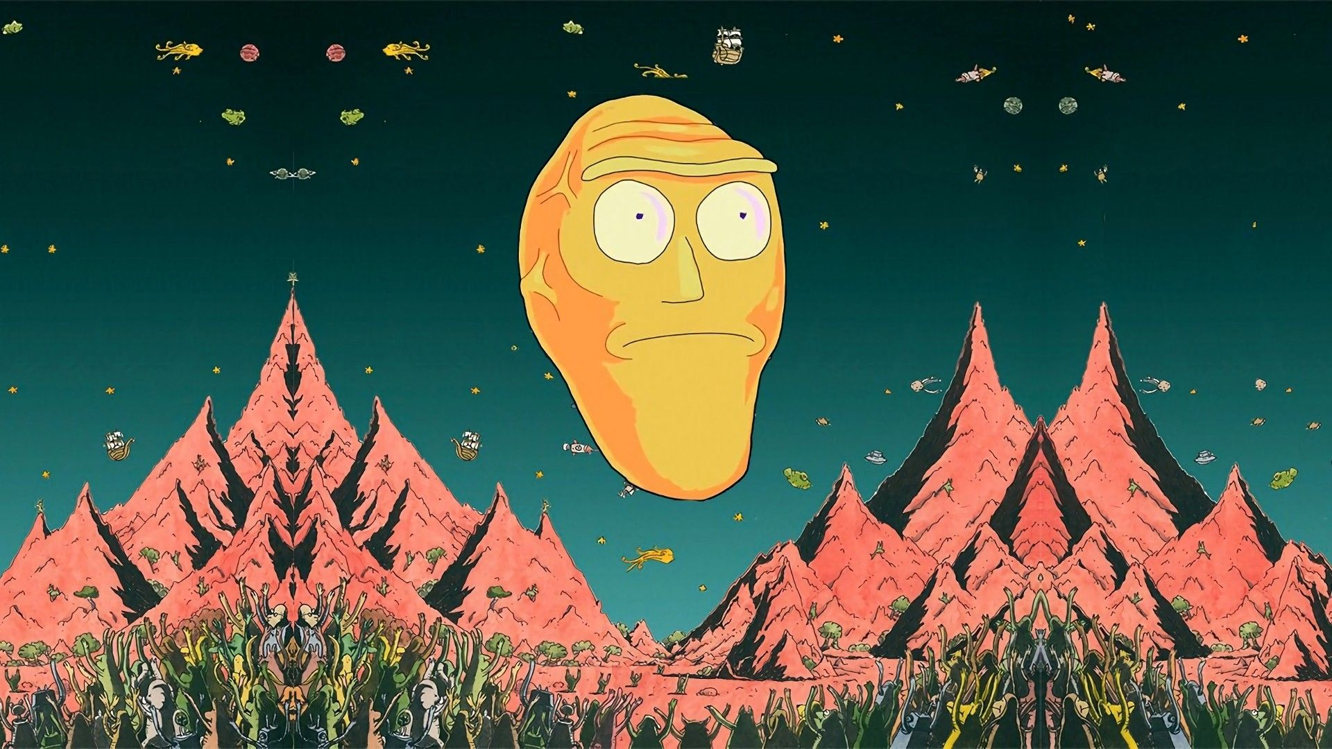 Rick And Morty Background 3d Wallpapers Rick And Morty Wallpapers Morty Wallpaper Rick And Morty Wallpaper Wallpapers