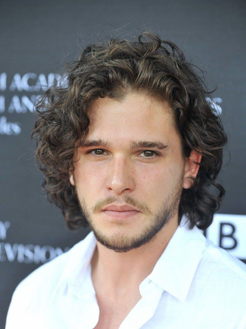 5 Step Technique To Get The Jon Snow Perms In 2020 Long Hair Styles Men Curly Hair Men Curly Hair Styles