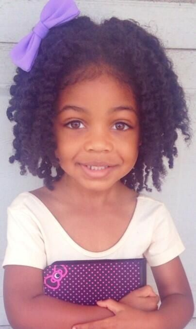 What A Pretty Little Thing! - http://www.blackhairinformation.com/community/hairstyle-gallery/kids-hairstyles/pretty-little-thing/ #kidshairstyles