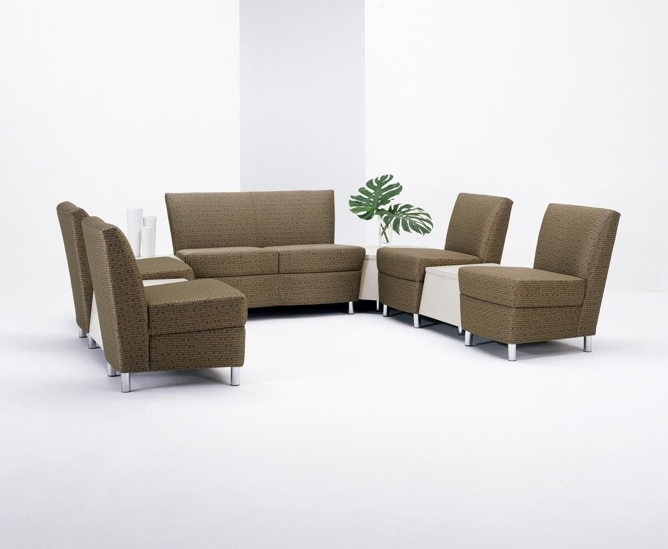 Waiting Chairs Chaise Lounge Chair With Storage Room Sofas Hpfi 7403 Modern 3 Seat