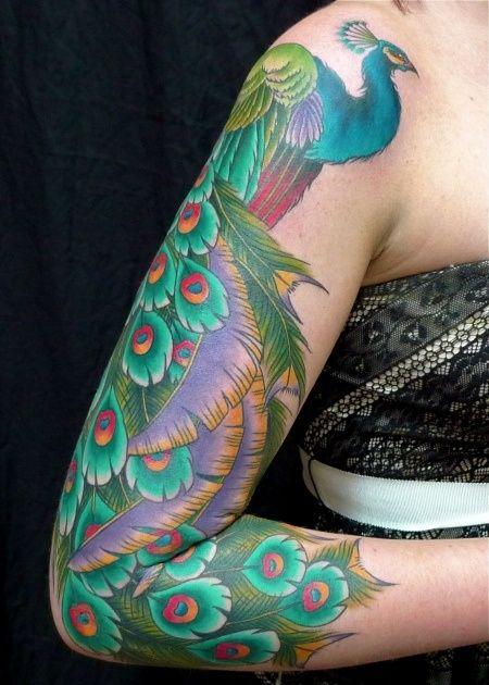 Cardi B Tattoos Arm: Peacock Tattoo, Tattoos, Sweet