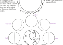 Earth & Space Science Worksheets & Free Printables