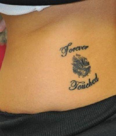 Cute Idea For A Tattoo Thumbprint Tattoo Unique Tattoo Designs