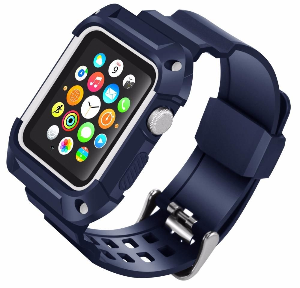 Rugged Protective Band for Apple Watch 8 Day Weekend