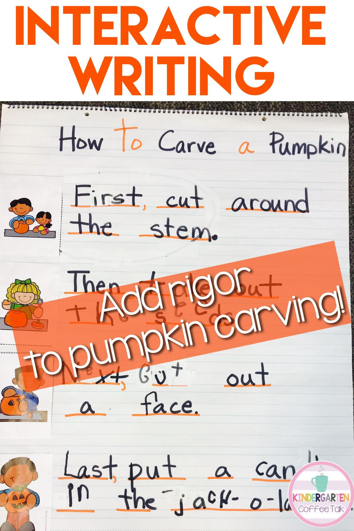 Sequence And Write How To Carve A Pumpkin