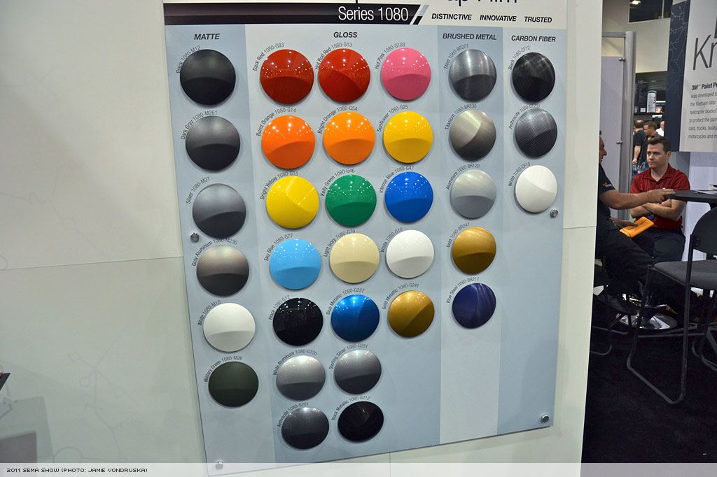 3M 1080 Colours | 3M 1080 Vinyl Colors | Pinterest | Film, Samples ...