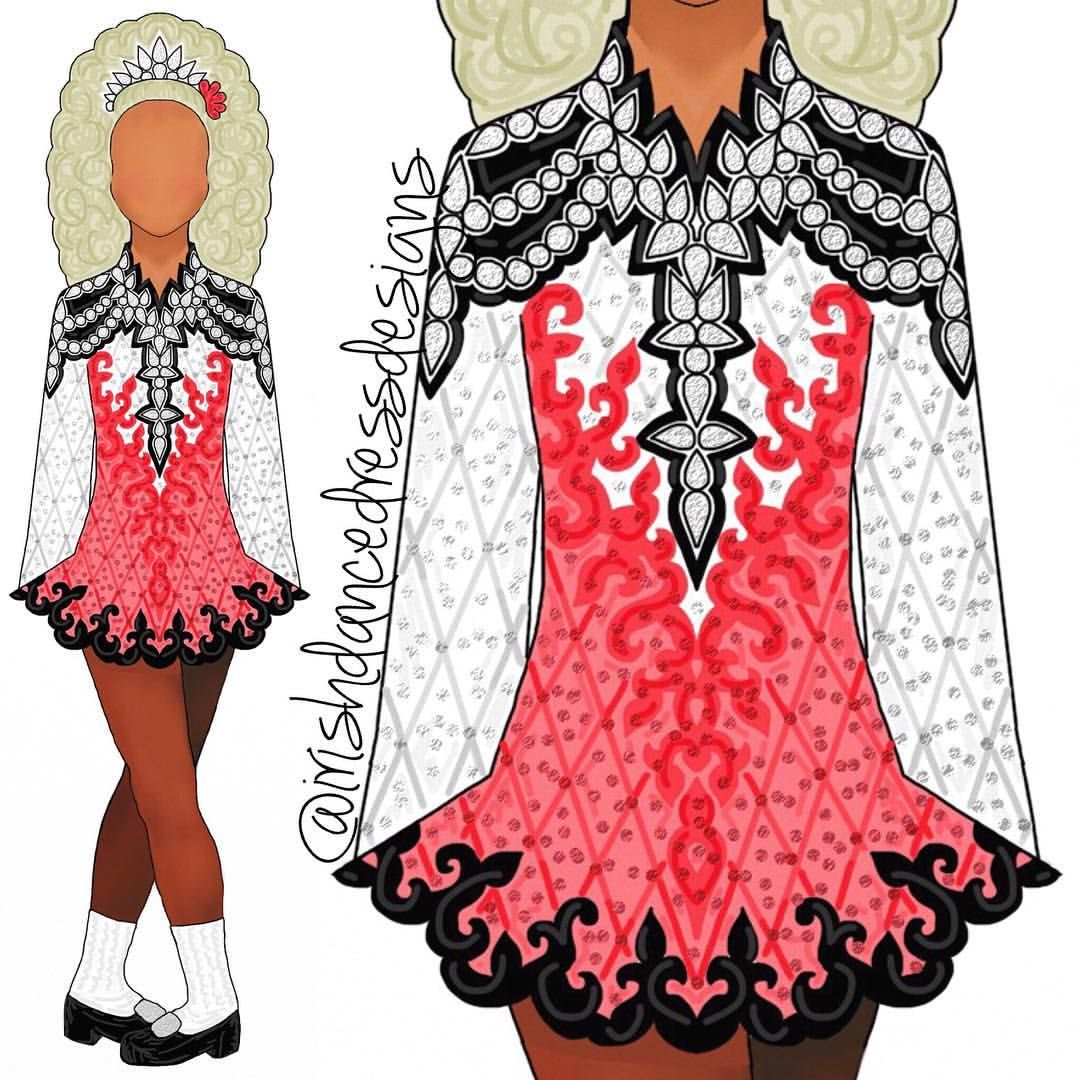 711 Likes 9 Comments Irish Dance Dress Designs Irishdancedressdesigns On Instagram Irish Dance Dress Designs Irish Dancing Dresses Irish Dance Solo Dress