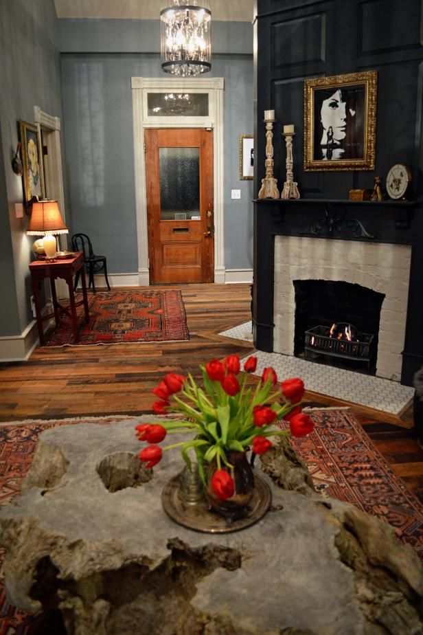 15 Painted Brick Fireplaces That Radiate Coziness Brick