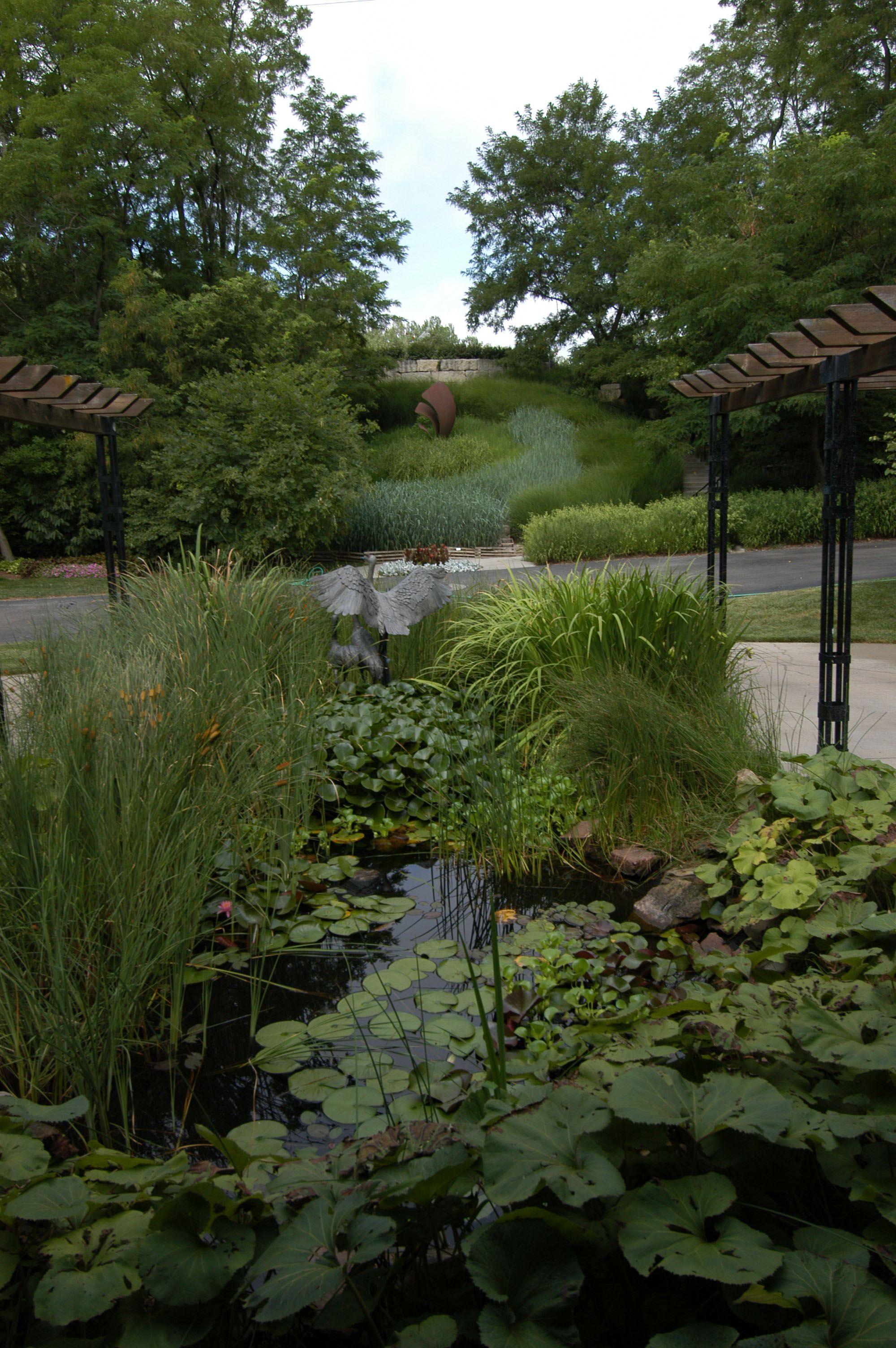 View At Lauritzen Gardens In Omaha Garden Plants Views