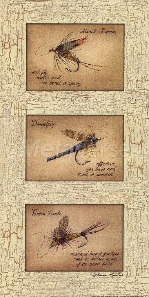 Fishing Flies   fishing decor. Fishing Flies   fishing decor   Rustic Fishing Decor   Pinterest