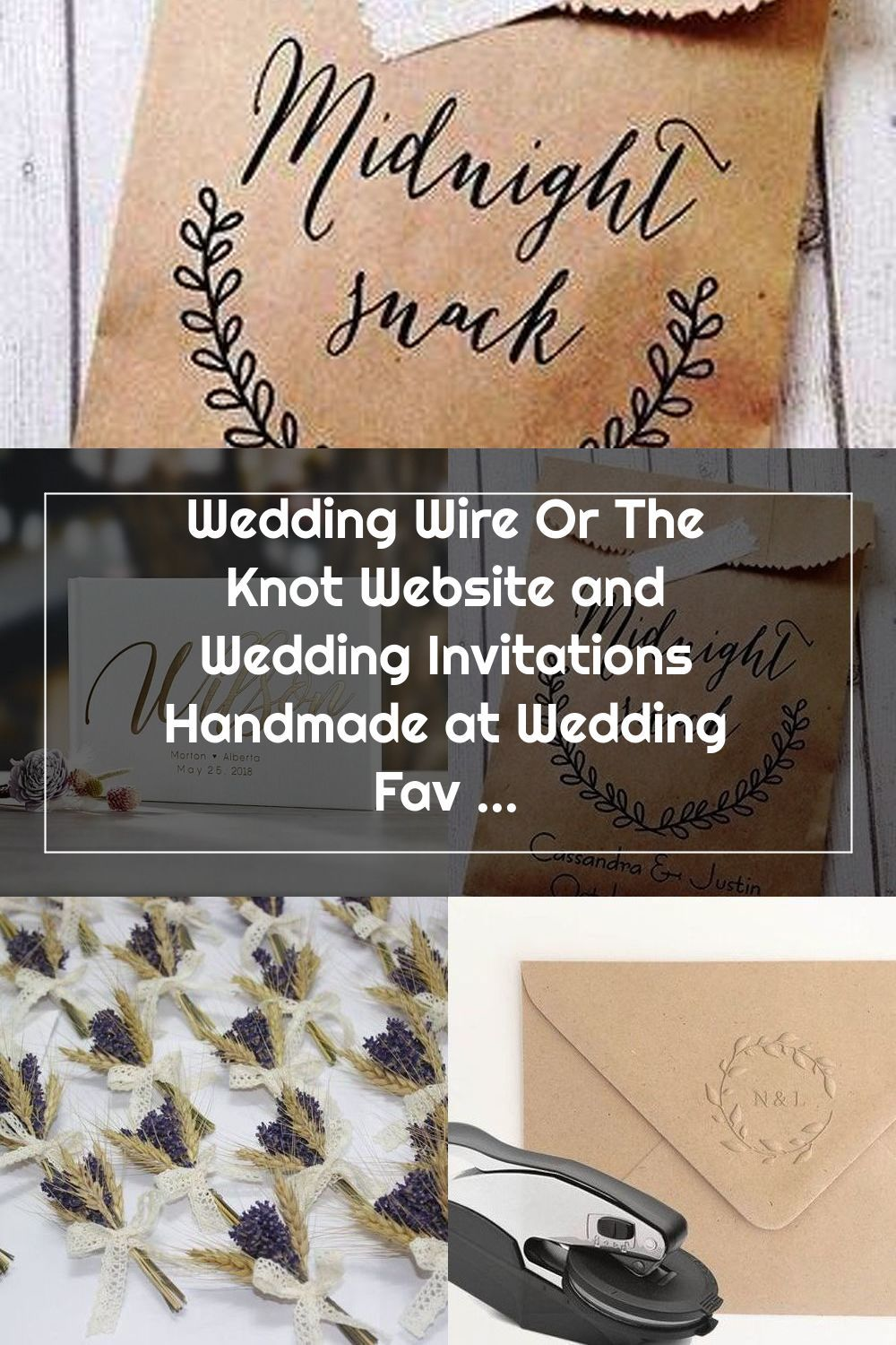 Wedding Wire Or The Knot Website And Wedding Invitations Handmade At Weddin In 2020 The Knot Website Wedding Invitations Wedding Favor Labels