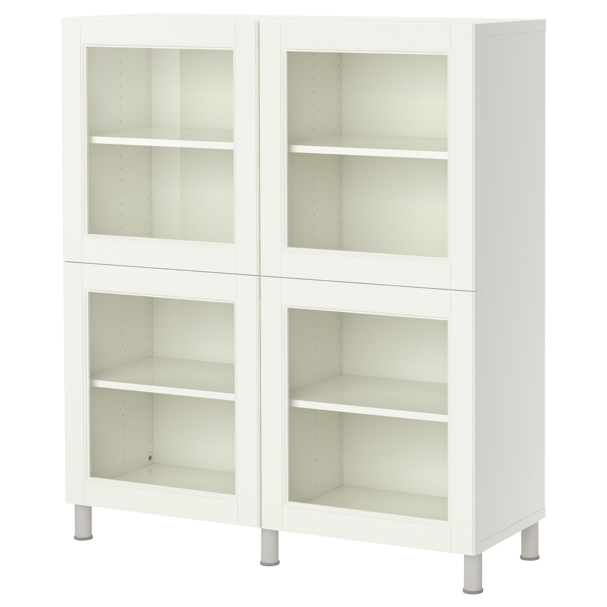 best shelf unit with glass doors white ikea things for my new place home decor. Black Bedroom Furniture Sets. Home Design Ideas