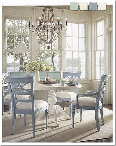 La casa al mare | Sedie sala da pranzo, Sala da pranzo ...