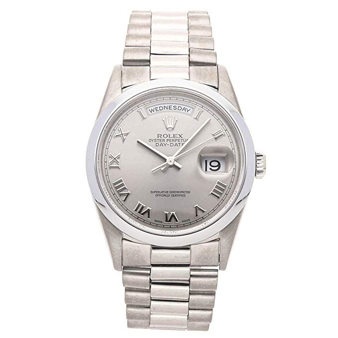 d5224375493 Rolex Day-Date Mechanical (Automatic) Grey Dial Mens Watch Rolex Price List,