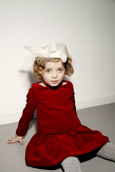 A great red velvet dress for little girls . My Little Dress Up .