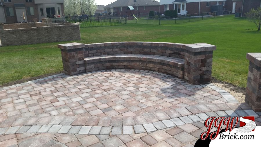 New Paver Patio Installation In Macomb, MI 48042 #paverpatiodesign  #patioinstallation #macombmi