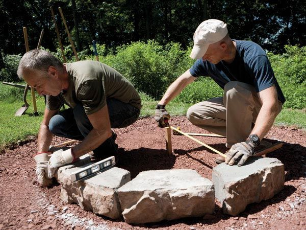 How to Build a Fire Pit in Your Backyard #firepitideas