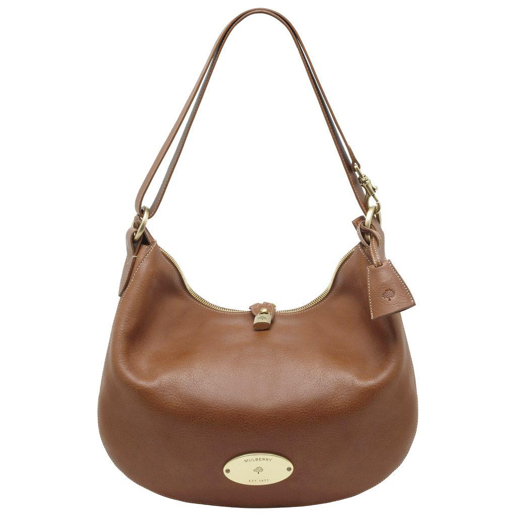 75ed2d57af Mulberry - Bella Messenger in Oak Natural Leather