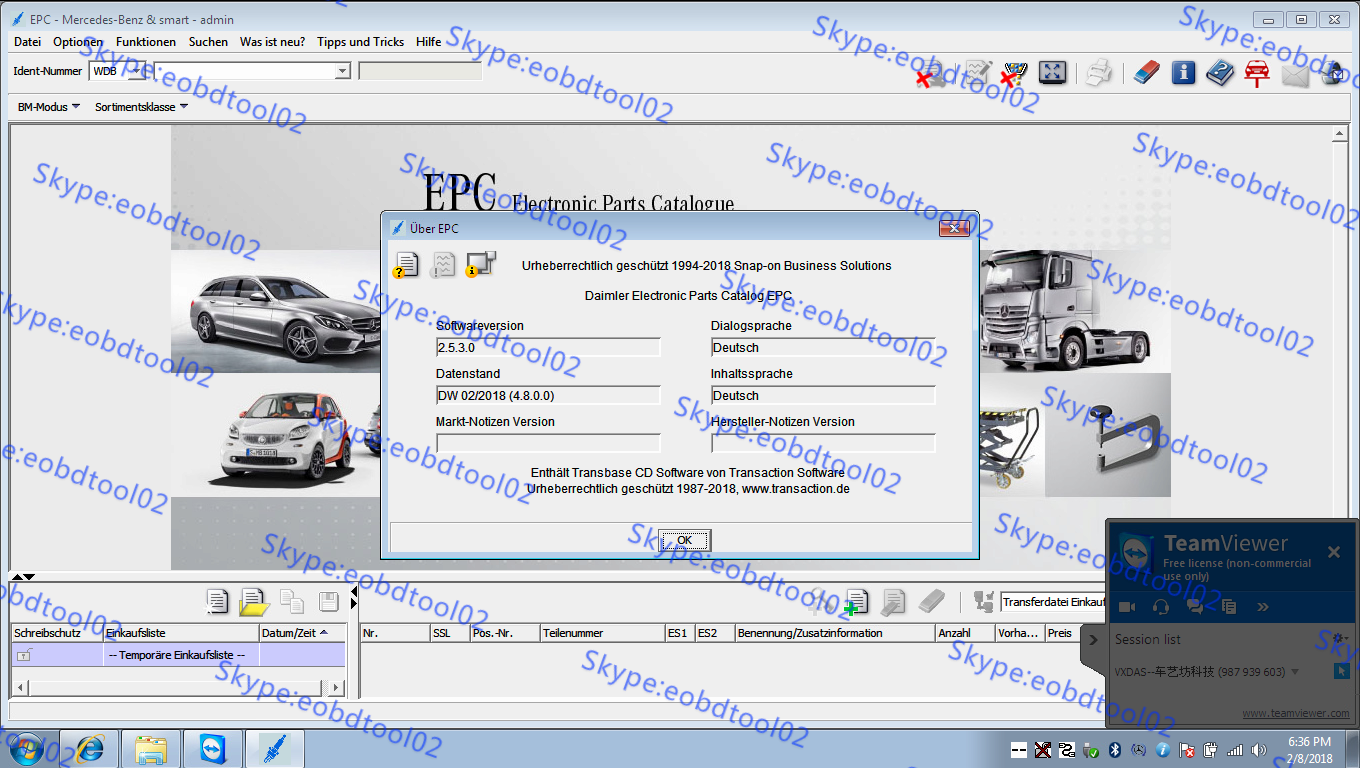 Mercedes WIS/EPC with 2018 5 Xentry/DAS software For MB Star