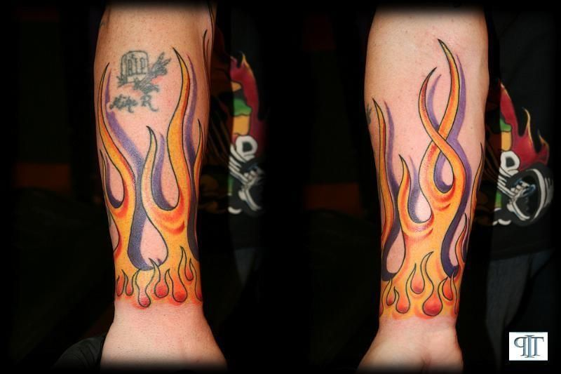 Flame Arm Tattoo Sleeves | Portfolio Page/Troy/Flame Arm Tattoo ...