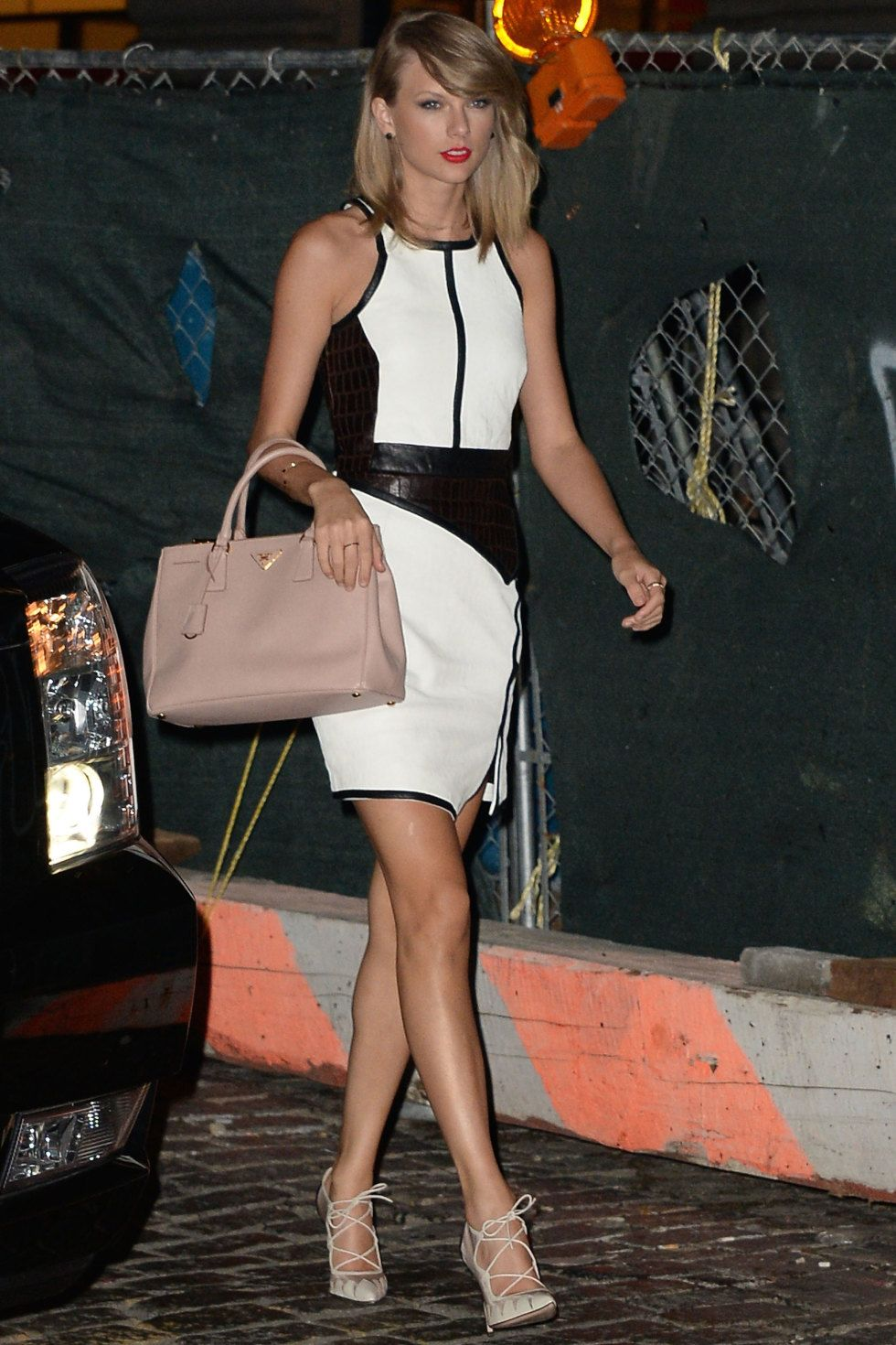 In New York City on August 13, 2014.