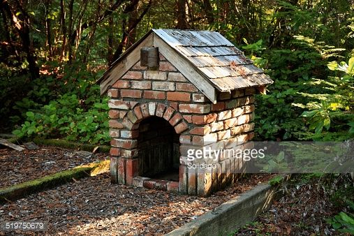Exterior Of Dog House Or Kennel With A Difference Designed With