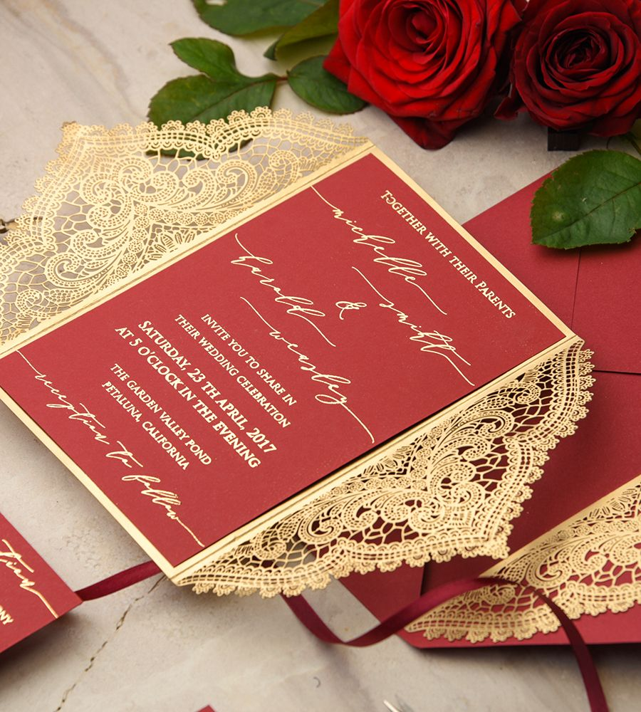 WEDDING INVITATIONS glitter | Weddings