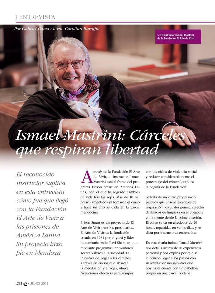 Arte de Viver - Quem é Ismael Mastrini? Instrutor internacional do próximo curso Arte do Silêncio