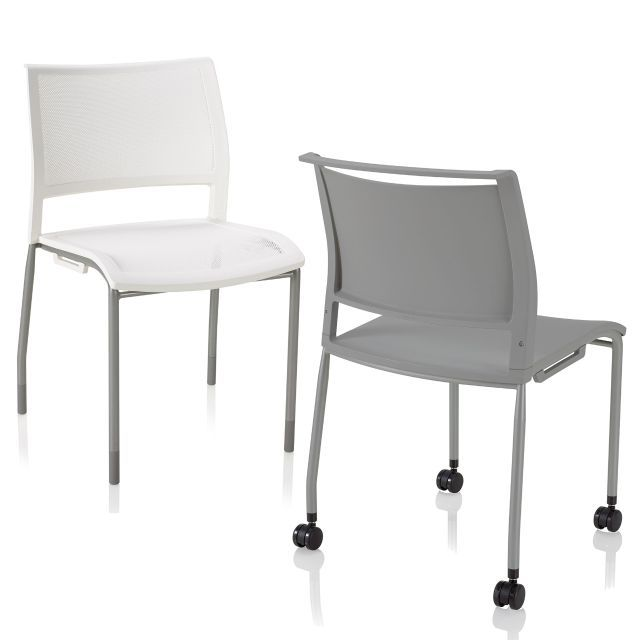 Furniture Legs With Casters ki opt4 4 leg chair with casters | seminar room | pinterest