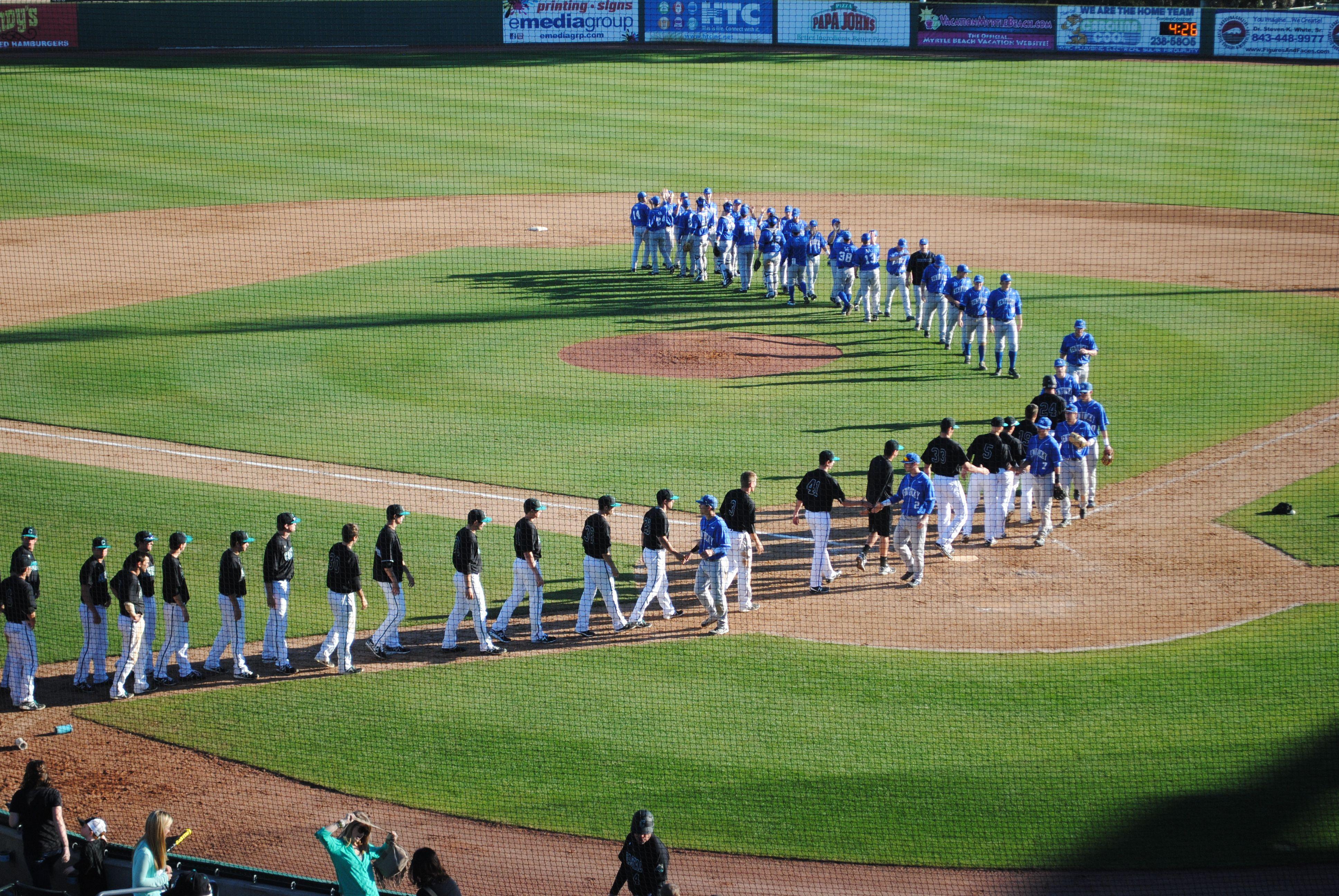 CCU Baseball 2013 is at at Pelicans