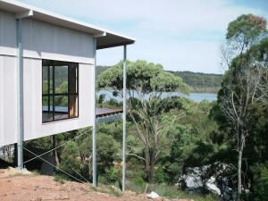 Ezy Homes   Steel Pole Kit Homes   QLD NSW VIC SA TAS   BEACH ... on landscapes around homes, fences around homes, gardens around homes, worms around homes, fire around homes, landscaping around homes,