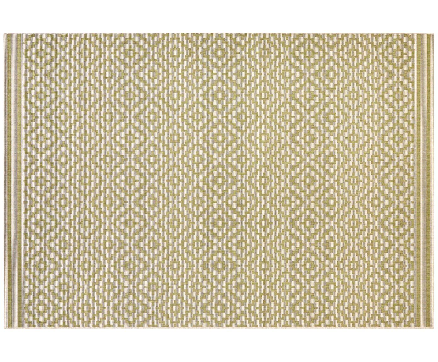In Outdoor Teppich Meadow Raute Mit Grafischem Muster Westwingnow Outdoor Teppich Teppich Teppich Grün