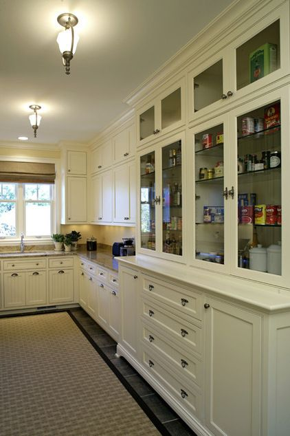 Butler\u0027s pantry! traditional kitchen by Stonewood, LLC Interior