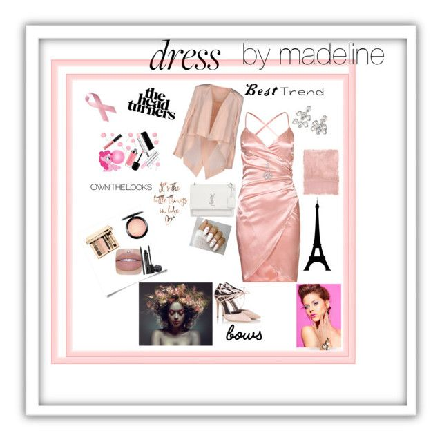 """""""Beauty out wear"""" by madelinerich ❤ liked on Polyvore featuring Fratelli Karida, Yves Saint Laurent, MAC Cosmetics, Rodial, BERRICLE, Kenneth Jay Lane, sass & bide and Rothko"""