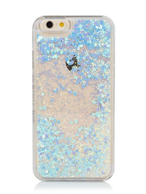 detailed look 1d01c c7ac2 The blue glittery magical star storm inside of this iPhone case is ...