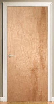 Low cost interior door option for loft make-overs - eclectic - interior doors - & Low cost interior door option for loft make-overs - eclectic ...