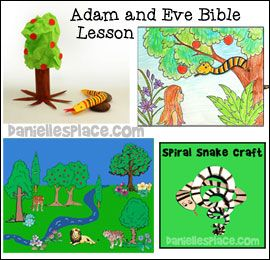 Adam and Eve Sunday School Lesson from www.daniellesplace.com