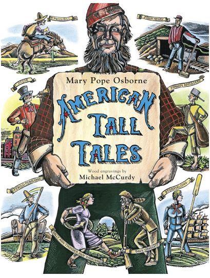 American Tall Tales Book